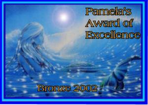 Pamela's award of excellence