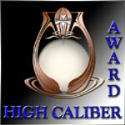 High Caliber Webmaster Award